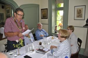 Lunch and DG visit at Milebrook House