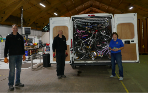 The Rotary Club of Rayleigh Mill's Bicycle Collection Project goes from strength to strength