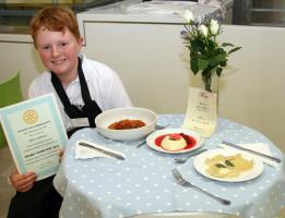 Nov 2014 Rotary National Young Chef Club Competition 2014-2015