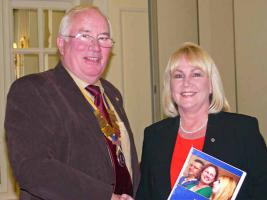 Jan Impanni Joins The Rotary Club of Southport Links
