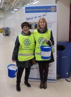 BUCKET COLLECTION AT TESCO PARK ROAD LIVERPOOL - £362.09 RAISED.