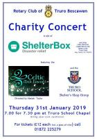Charity Concert in aid of Shelterbox