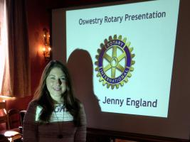 Lunchtime Meeting - 12.45pm - Speaker Jenny England GRSP