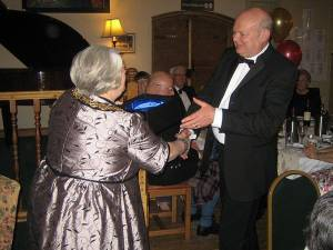 Rotarians Recognised at Oswestry Town Council Civic Dinner