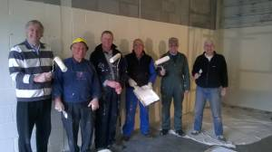 Rotary Club of  Chelwood Bridge goes painting.