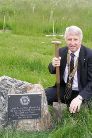 Tree Planting to mark Rotary Centennial