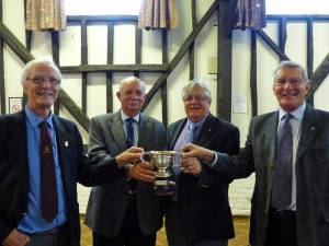 11 October 2013 - Amersham win Team Prize at District Golf Tournament