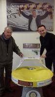 Donation of Spiral Wishing Well to Bradford City FC Community Foundation