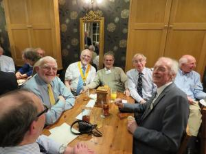 Joint meeting with Cotswold Tyndale at The Berkeley Arms, Berkeley