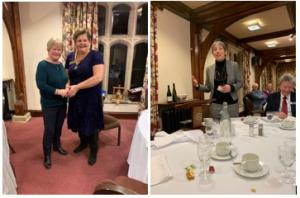 Joint Dinner with Inner Wheel - Professor Jo Price  Vice-Chancellor of the RAU