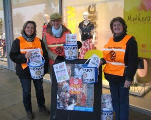 Thanks for Life Collection at Kew Retail Park.