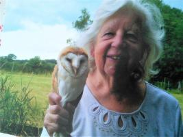 David Bromont from the South Cheshire Barn Owl troop