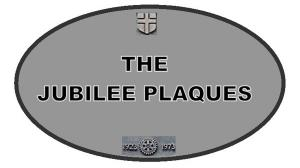 The Jubilee Plaques