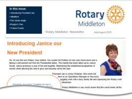 Rotary Middleton Newsletter