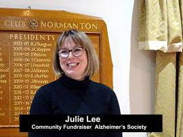 The Alzheimer's Society by Community Fundraiser Julie Lee