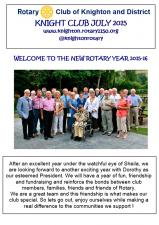 Knight Club July 2015