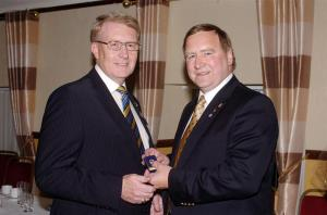 JIM COPLAND - PAUL HARRIS SAPPHIRE PIN PRESENTATION