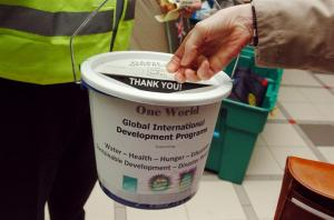 HAITI EARTHQUAKE COLLECTION - EAST KILBRIDE TOWN CENTRE