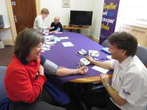 Know Your Blood Pressure Pop-up Clinic
