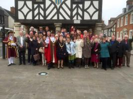 Rotarians from Denmark and Royal Wootton Bassett