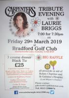 Carpenters Tribute Evening with Laurie Briggs