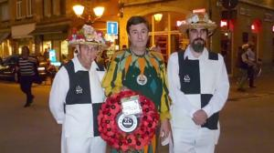 Morris men at the Menin Gate