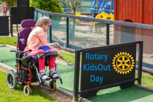 Rotary in Jersey:  KidsOut Day