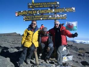 Rotarian Scales Mount Kilimanjaro and Develops Rotaventure!