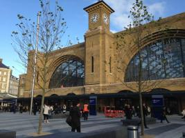 Kings Cross Station entrance
