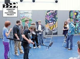 Mary Hignett Bequest Fund Supports Oswestry Young Film-Makers Project, October 2014