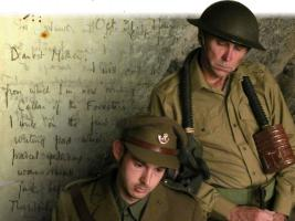 'The Forester's House' - a new play about the last hours of Wilfred Owen, November 2014