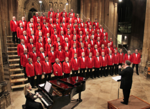 London Welsh Male Voice Choir in Concert at Gloucester Cathedral