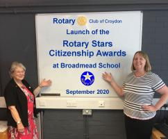 LAUNCH OF THE ROTARY STARS CITIZENSHIP AWARD