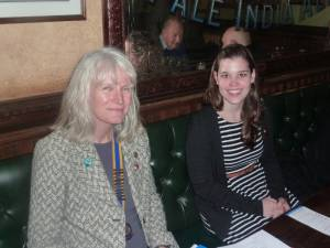Meeting 18th March - Rotary Ambassadorial Scholar