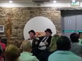 Laurel & Hardy Night raises £1,161 for ShelterBox and Rotary Foundation Charities