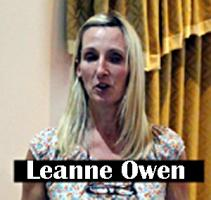 Our speaker will be Leanne Owen