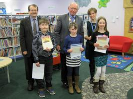 Dear Mr Morpurgo - Prize Presentations @ Oswestry Library 5.30pm