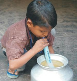 Money for Clean Water goes to Lifestraws