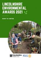 Lincolnshire Environmental Awards 2021