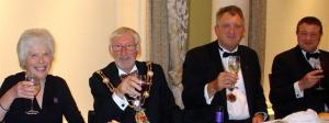 Ripon Rotary Club Charter Dinner 12 October 2011