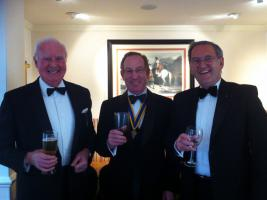 President Stuart Attends the Oswestry Lions Charter Night