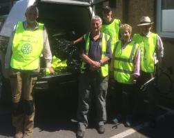 Kimbolton Litter pick