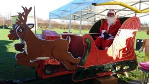 Stainborough RC helps Santa out at Little Houghton