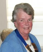Elizabeth Heeley is our Inner Wheel Club President for 2014-15