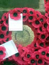 Rememberance Day Service Prestonpans 2014