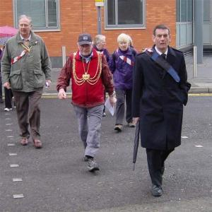 Lord Mayor on the walk