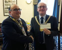 Donation to Lord Mayor's Charity
