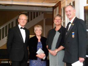 Lord Lieutenant is Guest of Honour at Rotary Club of Senlac