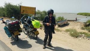 Epic journey to deliver mopeds to Health Workers in Gambia  ​