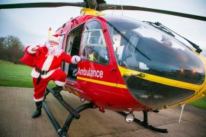 Christmas Gift of Foreign Currency to the Air Ambulance